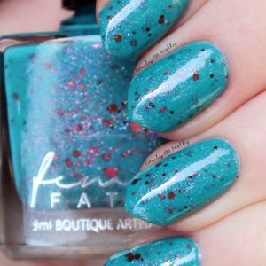 Femme Fatale- 2016 Blogger Collaboration Collection- The Polishing Life- Just Like a Dream- Interstellar Burst