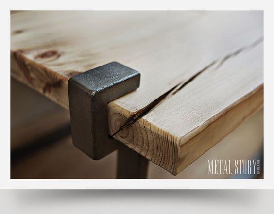 Metal Story. Ręcznie robione meble z metalu i drewna.