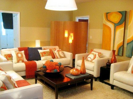 wohnzimmer deko orange wohnzimmer orange dekorieren tusnow ... - Wohnzimmer Deko Orange
