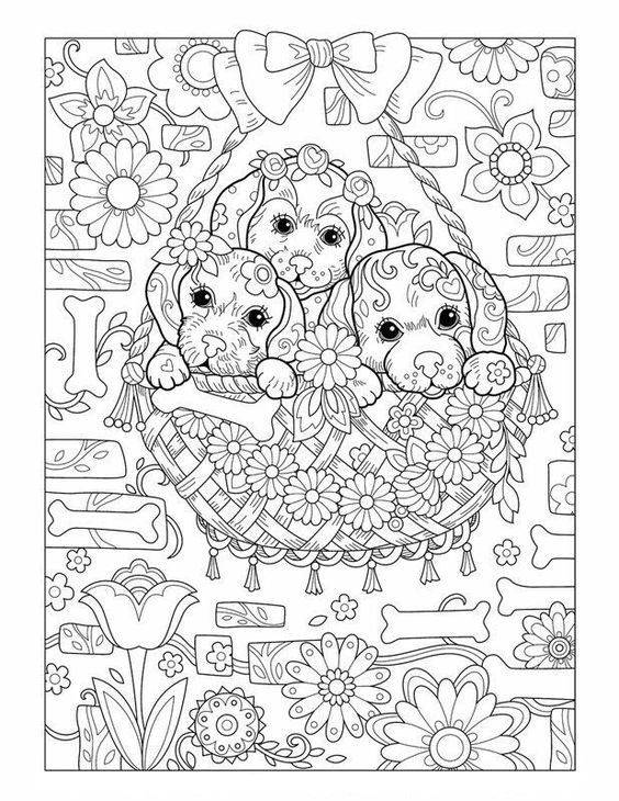 Omeletozeu Puppy Coloring Pages Dog Coloring Book Dog Coloring Page