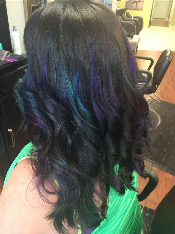 Oil Slick By Kristen Jla Salon Dover Delaware Hair Long Hair Styles Hair Styles