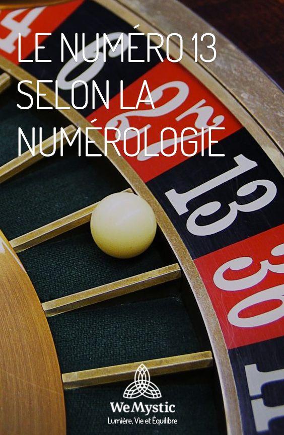 Le Numero 13 Selon La Numerologie Wemystic France Numerologie Cartomancie Astuce Iphone