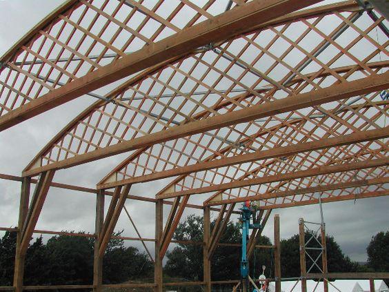 Wynstones Belfast Truss School Structures