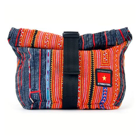 Socially Responsible Laptop Bags by Ethnotek - Direct Trade - Fair Trade - Social Entrepreneurs - Handmade Textiles - Global Artisans - Vietnamese Textiles - Bike Bags - Fanny Pack - Festival Concert Bag - Mini Backpack - Daypack - iPad bag - www.EthnotekBags.com