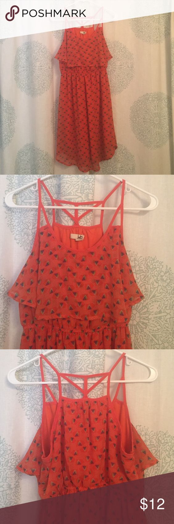 Boutique brand dress This dress is super cute and in great condition! Smoke and pet free home. Has been worn but very lightly. In GREAT condition. Ya Los Angeles Dresses