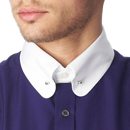 Pinterest the world s catalog of ideas for Tie bar collar shirt
