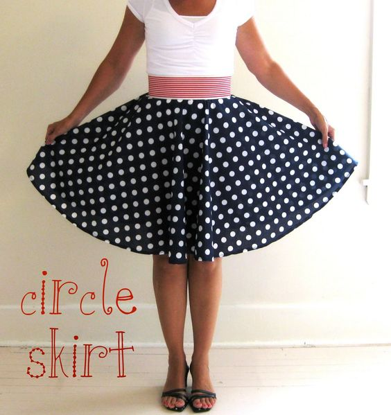 Circle skirt 0 sew and knit Pinterest Skirt tutorial, Circle skirt patt...