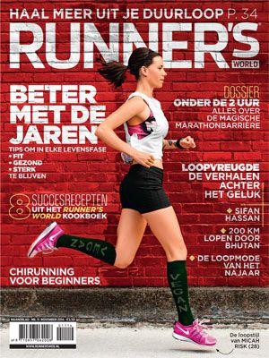 Runner's World November 2014 ... Wandelpauzes voor hogere snelheid ... I knew it ;-)