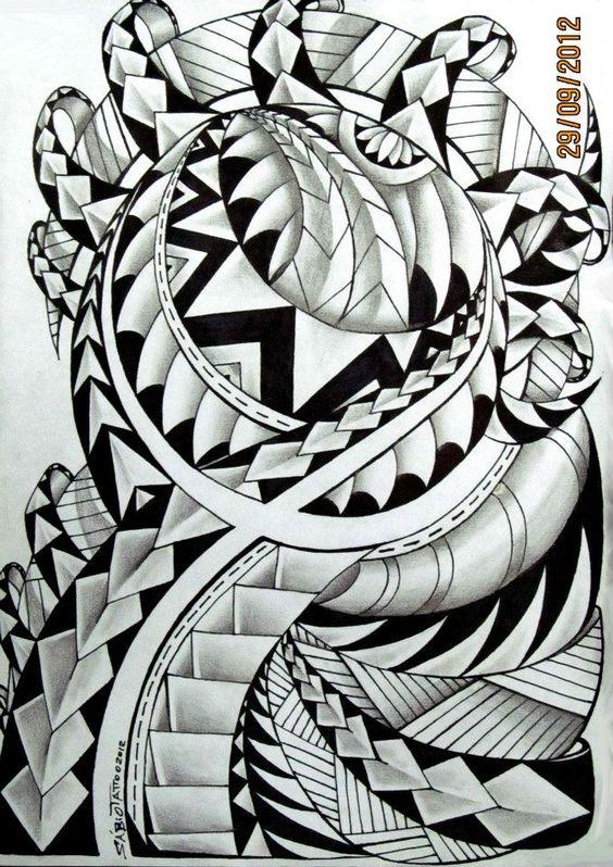 The World Of Maori Tattoo: Pinterest • The World's Catalog Of Ideas