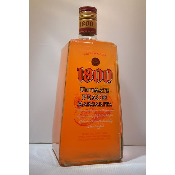 1800 peach tequila home spirits mixers 1800 for Good tequila mixed drinks