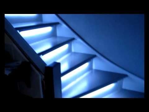 Eclairage Automatique De Mes Escaliers Youtube Escalier Eclairage