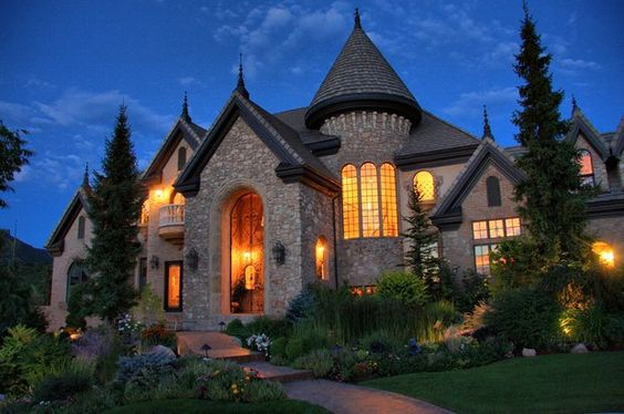 Luxury Stone Brick Home Architecturally Significant