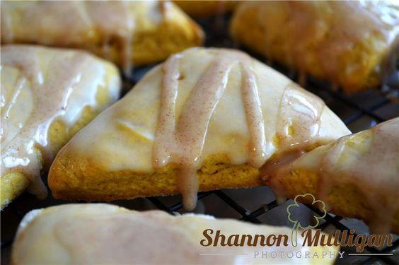 Homemade Pumpkin Scones - Food Photography - North Haledon, NJ