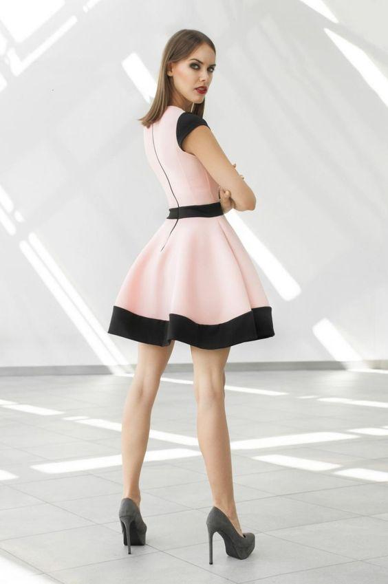 Pūsta suknelė STERETA | POPI - Popi.lt | ShopSpy.lt