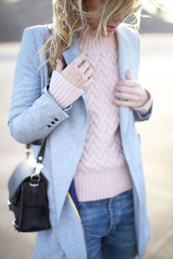 How To Wear Winter Pastels: