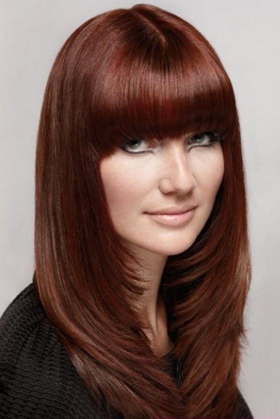 Outstanding Hair Dos Long Hair And Bangs On Pinterest Short Hairstyles Gunalazisus