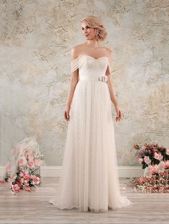 Wedding gown by Alfred Angelo Modern Vintage Bridal Collection