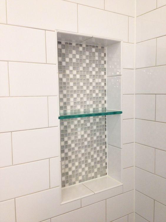 Large white subway tile us ceramics ice bright ceramic for Large glass tiles