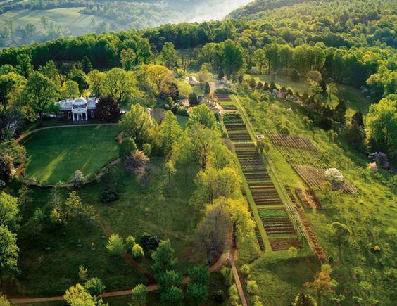 Thomas Jefferson Virginia And Backyards On Pinterest