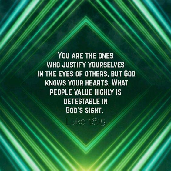 Luke 16:15