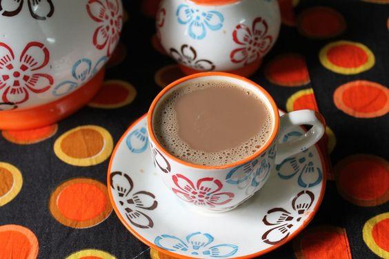 YUMMY TUMMY: Mint Chai / Pudhina Tea / Indian Mint Tea