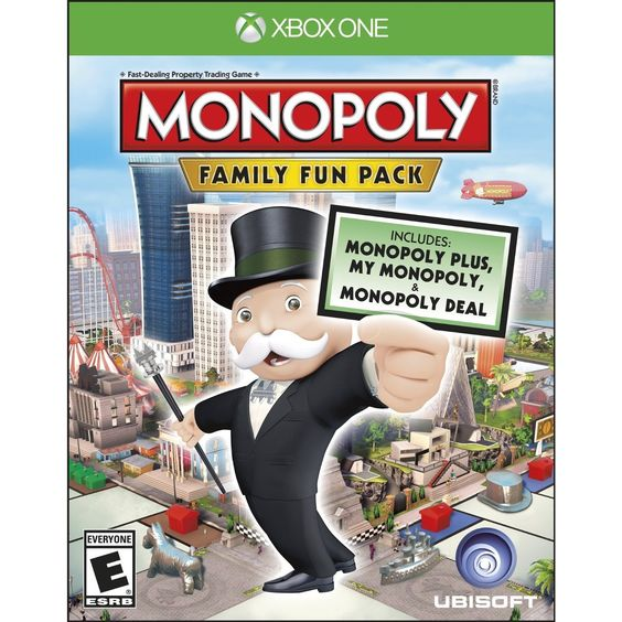 Xbox One - Monopoly Family Fun Pack, Black