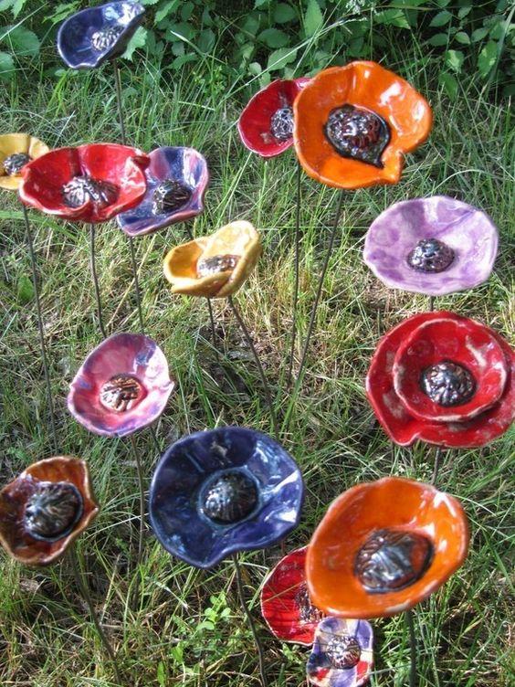 D coration jardin poterie - Decoration japonaise pour jardin ...