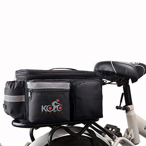 Top 10 Best Bicycle Saddle Bags In 2020 Pannier Bag Bike