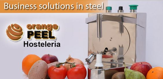 Specialized in peeling and food processing. Fruit peeler machine - pelamatic.com