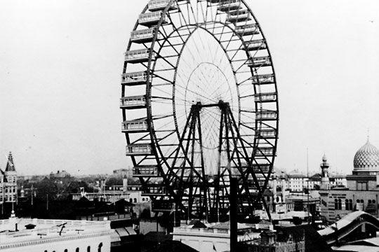 Ferris Wheel Restaurant Chicago