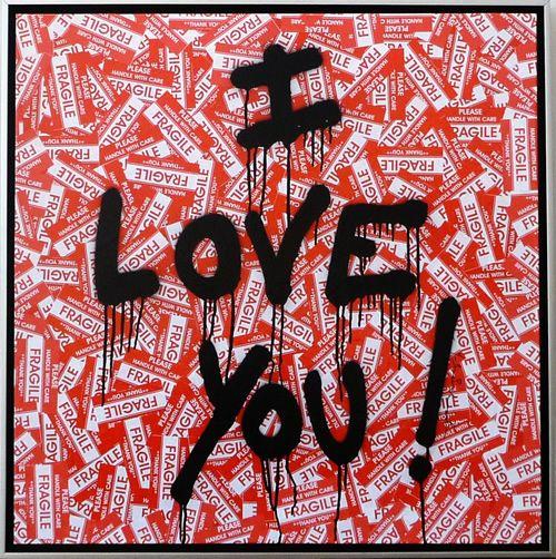 Mr. Brainwash (1966-) I Love You! http://www.denisbloch.com/object.php?id=1255