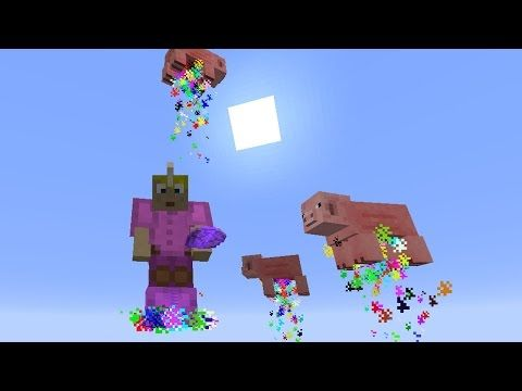 Ich bin ein Einhorn! - Minecraft Creation (Command) - YouTube