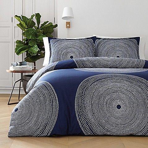 Marimekko Fokus Duvet Cover Set Bed Bath Beyond Comforter Sets Navy Duvet Covers Marimekko Bedding