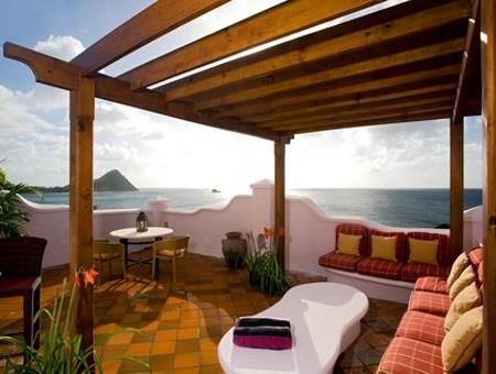 Cap Maison St Lucia - Splurge and get the villa with rooftop terrace and plunge pool.  You won't regret it!!