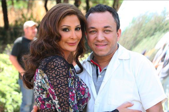 Bassam with Elissa