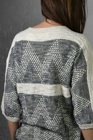 Sita Murt 161202 Chevron Sweater Visit www.bocnyc.com