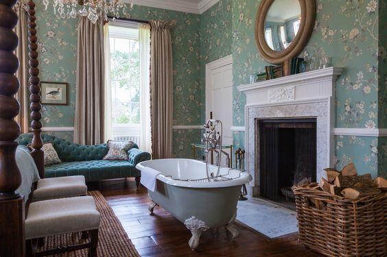 Decorating Trend Bathtubs In The Bedroom Babington House Bathroom Decor Bedroom With Bath Decorating trend bathtubs in bedroom