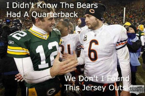 Nike NFL Jerseys - green bay packers vs chicago bears memes - Google Search | Green ...
