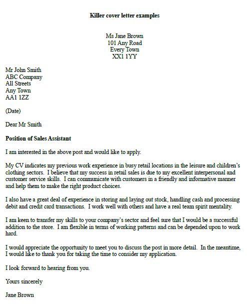 Killer covering letter examples Job hunting Pinterest Letter - debit note letter sample