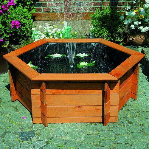 Boden Brunnen Aus Holz Garten Living In 2020 Outdoor Furniture