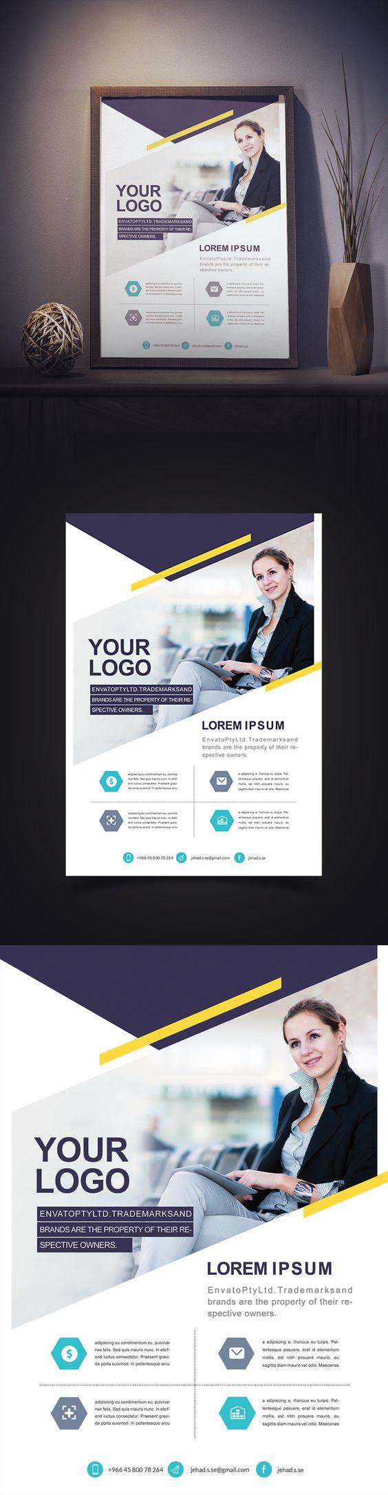 Corporate Flyer Beautiful on Behance