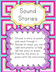 Elementary Music Resources: Centers: Sound Stories