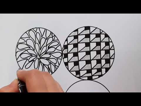 Drawing 5 Zentangle Patterns Step By Step Easy And Simple Drawing رسم زنتانجل خمس انماط مختلفة Youtube Youtube Art Cool Art Art