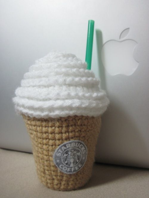 Amigurumi Starbucks : AMIGURUMI STARBUCKS PATTERN - Get your Starbucks fix ...