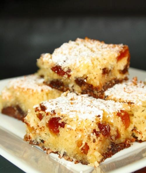 CranberryJam: coconut cake with candied cherries / Cherry Coconut ...