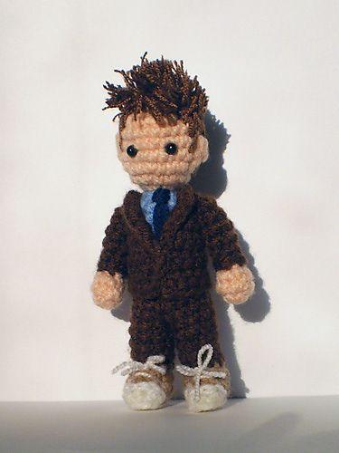 David Tennant Dr Who crochet!!! Must make asap: Doctor Crochet, Crochet Boy Doll, 10Th Doctor, Doctor Who, Crochet Boy Amigurumi, David Tennant, Dr Who Crochet Patterns