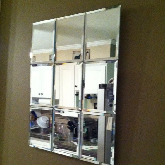 dollar store mirror project crafts pinterest dollar