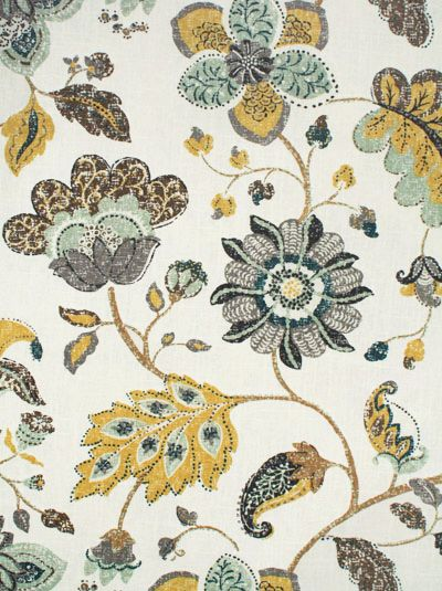Spring Mix, Aloe by @R_AllenDesign $23.95 per yard.