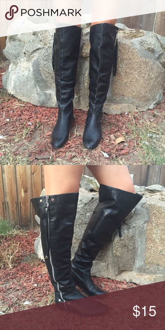 Jessica Simpson over the knee boots Super cute over the knee boots size 6 in perfect condition. Jessica Simpson Shoes Over the Knee Boots