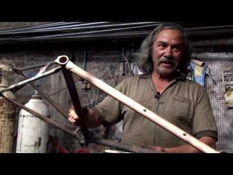 Nano Vera, artesano de bicicletas
